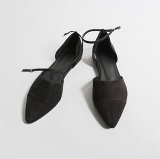 *strap flat shoes (black, wine, gray, beige)