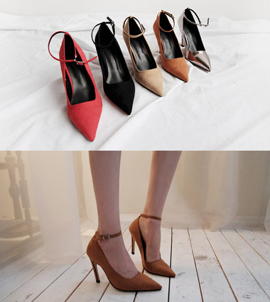 **secret line strap heel (5colors!)  [black,225]