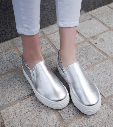 *wish slip-on (2colors!)  [ivory,225] [silver,225] [silver250]