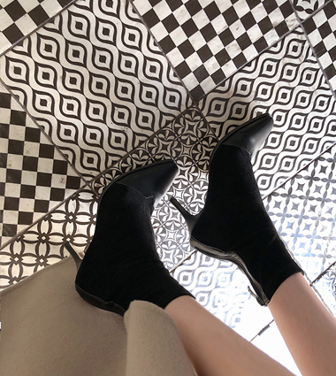 combi ankle boots (2colors!)