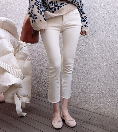 comfortable cotton pants(2color!)